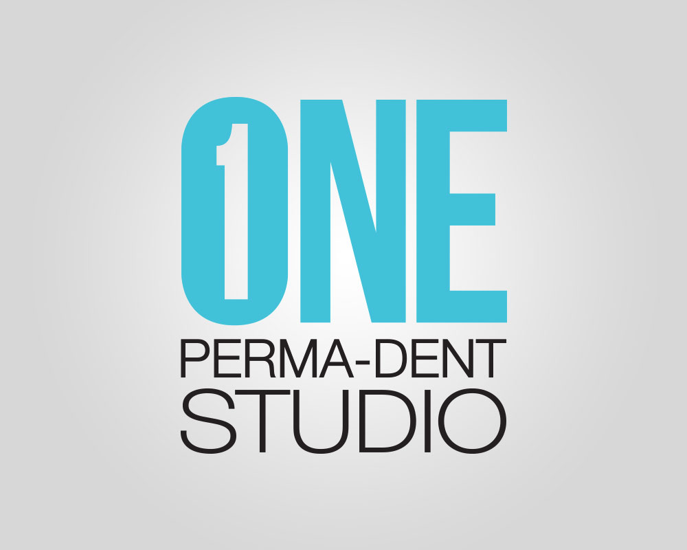 ONE Perma-Dent Studio Lab Logo