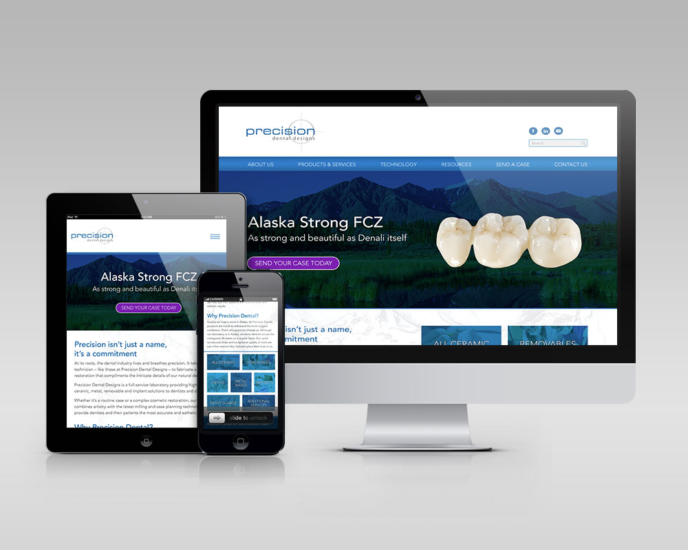 Precision Dental Website