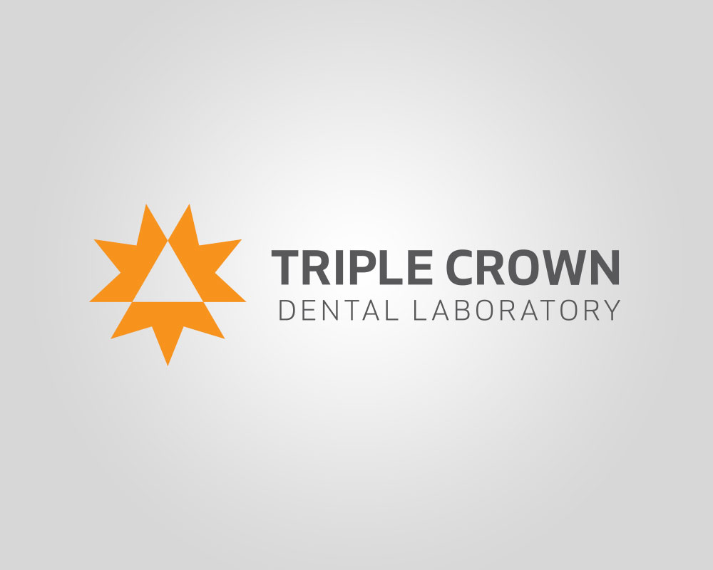 Triple Crown Dental Lab Logo
